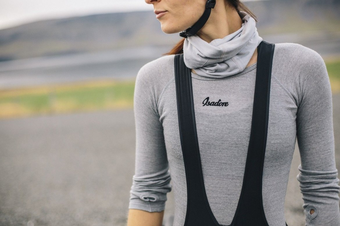 Women 100% Merino LS Baselayer Grey