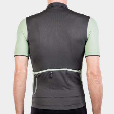 Signature Cycling Jersey Steel Grey/Reseda 1.0