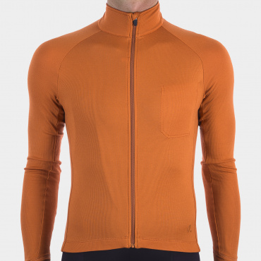 Langarmtrikot Burnt Orange