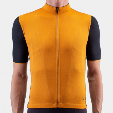 Signature Cycling Jersey Golden Oak/Black